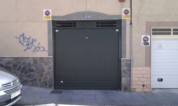 puerta automatica seccional